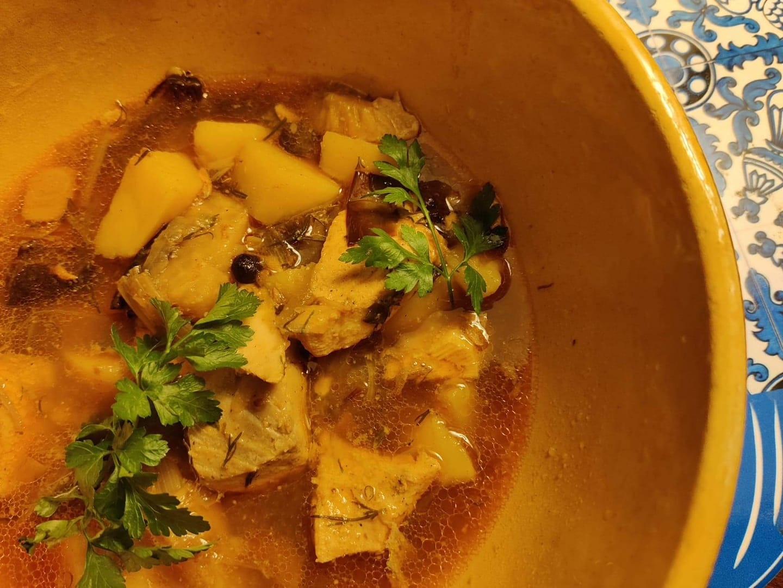zupa rybna